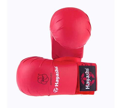Hayashi Tsuki Officiel Wkf Karate-Handschuhe, rot, L