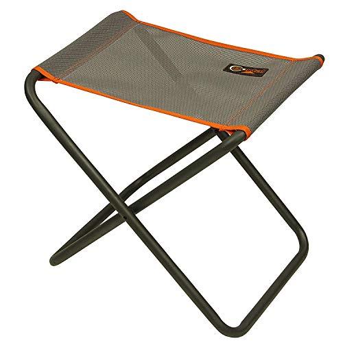 Portal Outdoor Kim belastbarer klappbarer Campinghocker / Tisch, leichter Rahmen mit einer Traglast bis zu 100 kg und öffnet sich in Sekundenschnelle