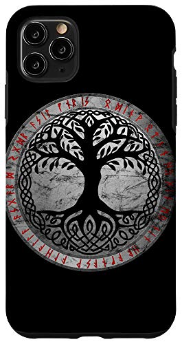 iPhone 11 Pro Max Yggdrasil The Celtic Tree of Life Vintage Norse Gift Case