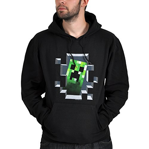 Minecraft Hoodie - Creeper Inside (XL)