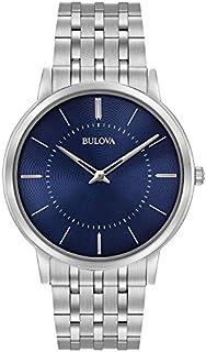 Bulova Men's 40mm Classic Stainless Steel Bracelet Watch (Certified Refurbished)
