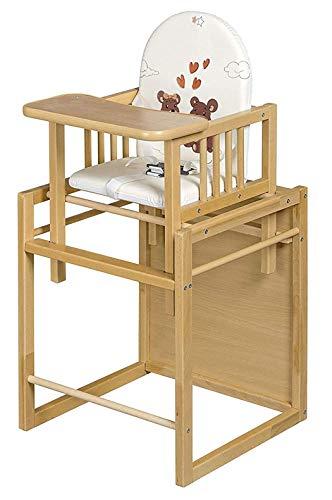 Best For Kids Kombihochstuhl Victoria - leicht umbaubar zur Stuhl-Tisch-Kombination HIGH QUALITY