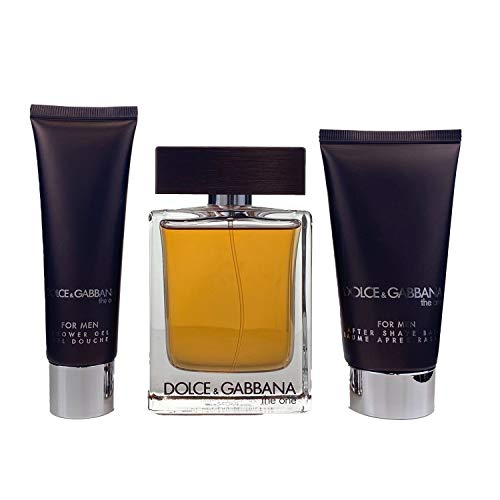 Dolce & Gabbana The One homme/man, Geschenkset (Eau de Toilette,100 ml+After Shave Balm,75ml+Duschgel,50 ml)