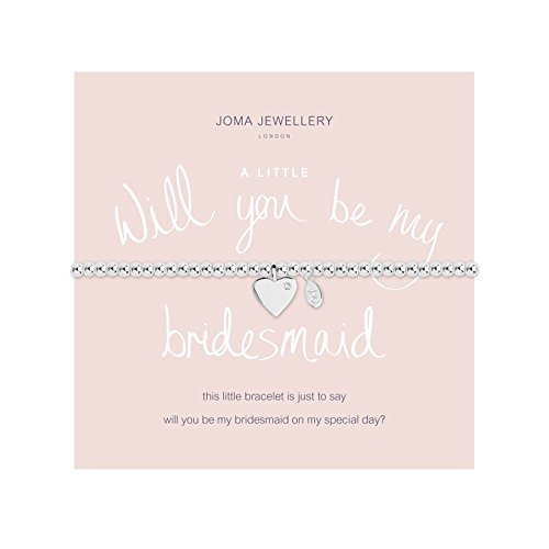 Joma Jewellery A Little Will You Be My Bridesmaid Armband