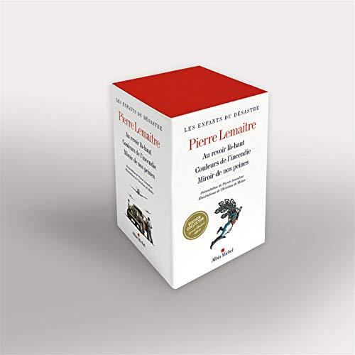 """Coffret """"Les Enfants du désastre"""" - 3 volumes: Au revoir Là-haut - Couleurs de l'incendie - Miroir de nos peines - Livret"""
