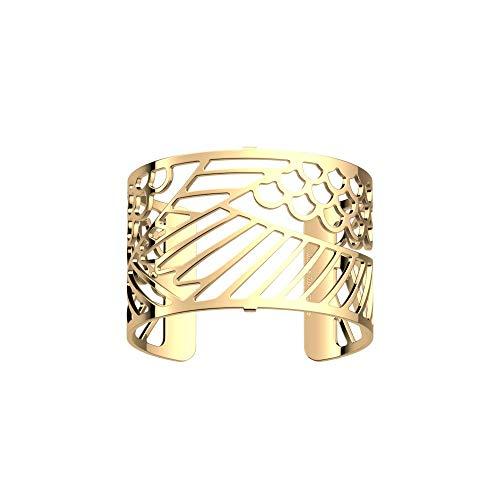 Les Georgettes Damen Armreif - Les Essentielles Ibis - Medium, Farbe:Gold, Armreif-Breite:40mm