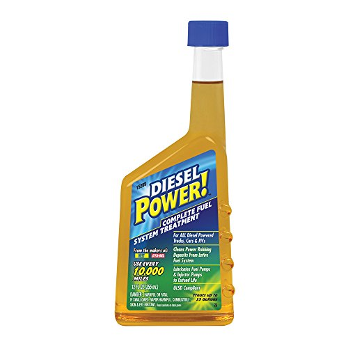 Diesel Power! 15209 Complete Fuel System Treatment - 12 Fl oz.