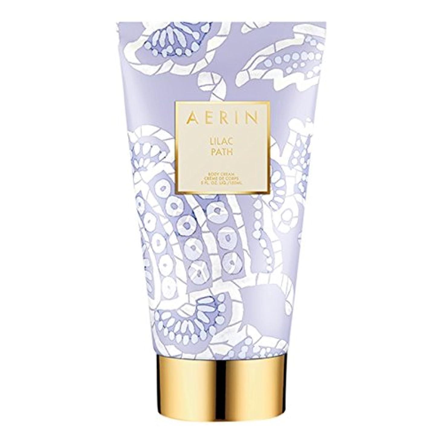 灌漑ナインへハブAerinライラックパスボディクリーム150ミリリットル (AERIN) (x6) - AERIN Lilac Path Body Cream 150ml (Pack of 6) [並行輸入品]