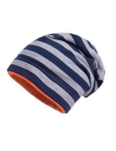 maximo Baby-Jungen Jerseymütze Mütze, Mehrfarbig (Mood Indigo-Ermelino 408), (Herstellergröße: 49)
