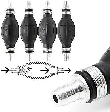 12mm Rubber Fuel Transfer Vacuum Fuel Line Hand Primer Pump Bulb Type For All Fuels