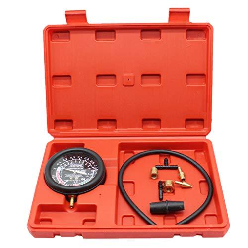 HOTPINK1 Engine Vacuum Pressure Gauge Fuel System Meter Seal Leakage Tester Compressor