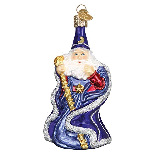 Old World Christmas Wizard Glass Blown Ornaments for Christmas Tree
