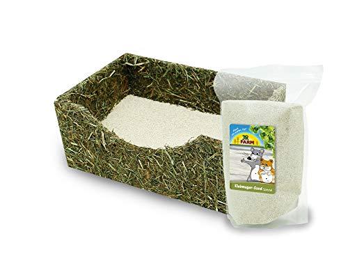 JR Farm Kleinnager Bade-Box incl. Sand 19x12x8cm