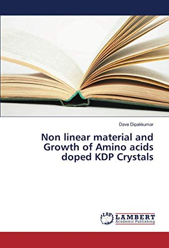 Non linear material and Growth of Amino acids doped KDP Crystals