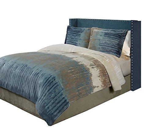 Fraiche Maison Bentley Velvet Plush Print Comforter Set, Full/Queen