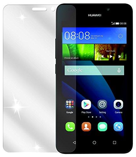 dipos I 2X Schutzfolie klar kompatibel mit Huawei Y635 Folie Bildschirmschutzfolie