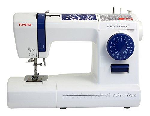 Toyota Jeans 17C Eléctrico - Máquina de Coser (Blanco, Costura, Paso 4, Eléctrico, 65 W, 412 mm)