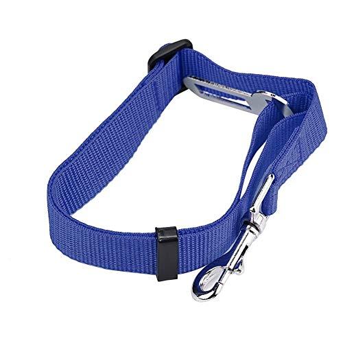 HNZZ Correa de Perro Cuidado de la Seguridad de Las Mascotas Perro Gato Vehículo Vehículo Cinturón de Seguridad Cinturón de Seguridad Arnés Clip de Plomo Mascota Gato Seguridad del Perro