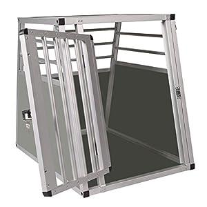 Elightry Boite de Transport en Aluminium pour Chien-Cage de Transport en Aluminium pour Chien ou Chat