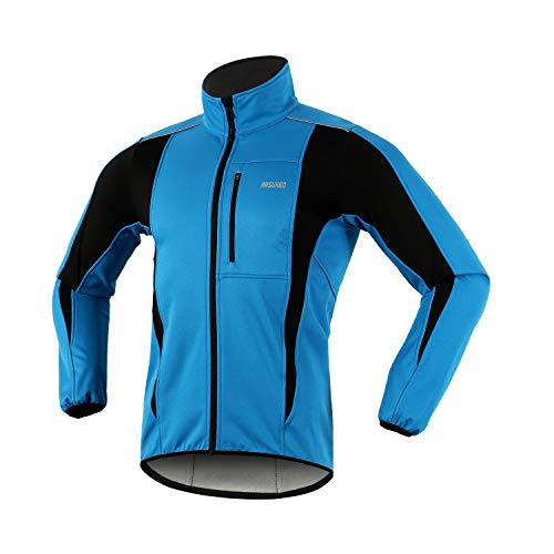 ARSUXEO Winter Warm UP Thermal Softshell Cycling...