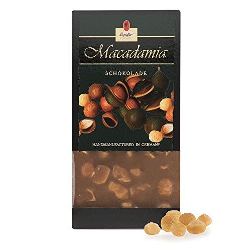 Leysieffer - Vollmilch Schokolade mit Macadamia-Nüssen