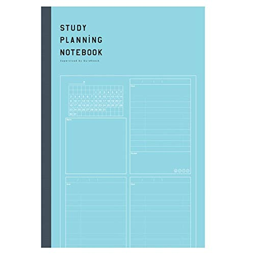 学研ステイフル STUDY STATIONERY ノート 勉強計画ノート B5 ブルー JD04039