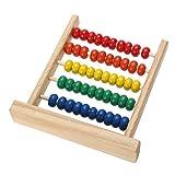 Ogquaton Premium Mini Abacus Niños Matemáticas tempranas Aprendizaje de números de Juguete Recuento Calcule Perlas Juguetes educativos