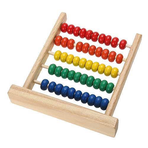 Fliyeong Premium Mini Abacus Kinder Frühe Mathematik Lernspielzeug Zahlen Zählen Berechnen Perlen Lernspielzeug
