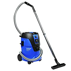 Its 25-liter container capacity, 127 maximum CFM, and 84-inch maximum waterlift. German-engineered for highest-quality cleaning, reliability, and long-lasting operation. Flat-top design and electric autostart feature (for plugging small electronic to...