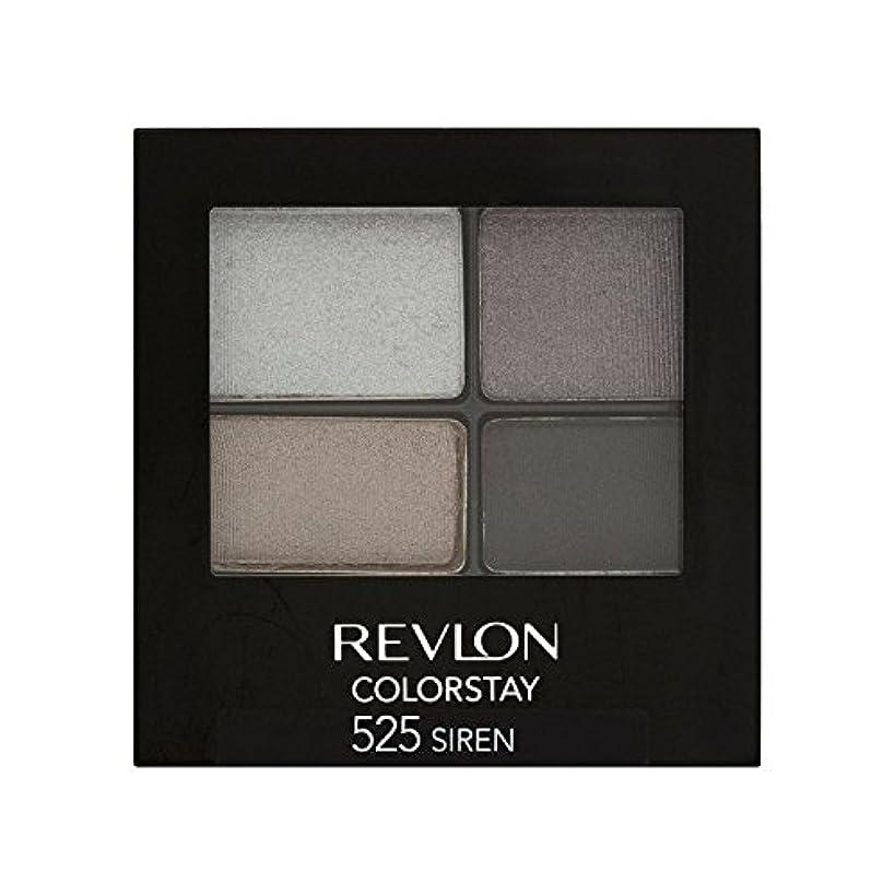ダイヤル胴体消毒剤Revlon Colorstay 16 Hour Eye Shadow Siren 525 (Pack of 6) - レブロンの 16時間アイシャドウサイレン525 x6 [並行輸入品]