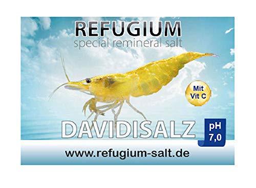 REFUGIUM Spezial ReMineral Davidisalz pH 7.0 - Garnelensalz für Osmosewasser, 1000 g