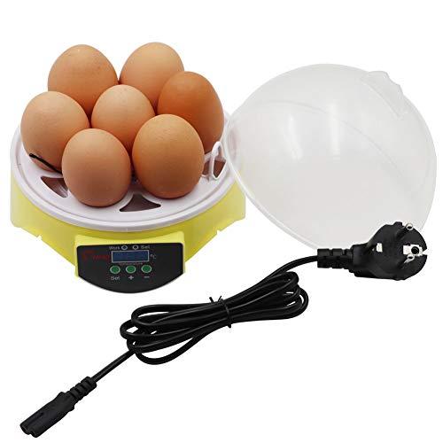 PROBEEALLYU inkubator Mini-Ei-Inkubatoren Automatischer Brut-Hühner-Brut-brutmaschine für Terrarien
