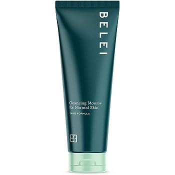 Marchio Amazon - Belei, Mousse detergente per pelle normale, 125 ml