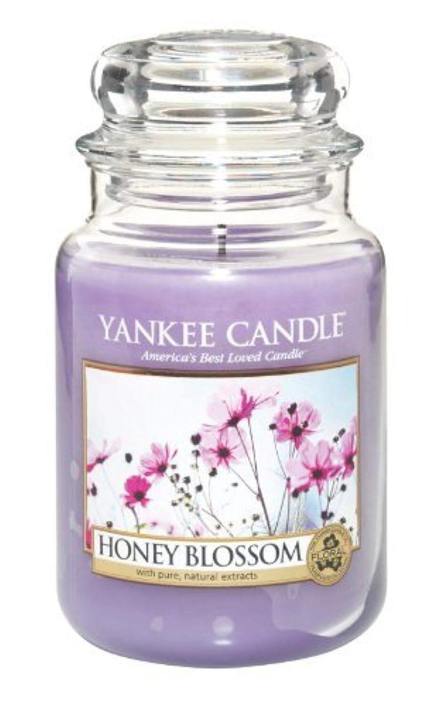 アパル安いですパワーセルYankee Candle Honey Blossom 22-Ounce Jar Candle, Large by Yankee Candle [並行輸入品]