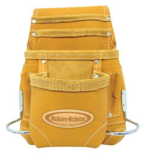 McGuire Nicholas 689 MB 10 Pocket Leather Tool Belt Pouch