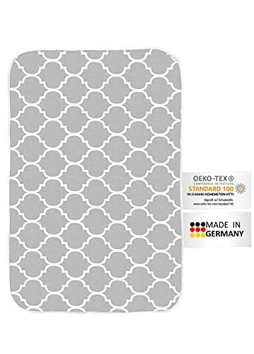 arteneur® - Made in Germany Bügeldecke für Tisch Dampfbügeleisen Geeignet | Bügelunterlage für Tisch Hitzebständig & Hitzereflektierend | Bügelmatte zum Nähen (90x65 cm)