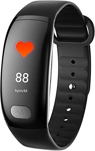 TIANYOU Fitness Tracker Watch Smartwatches con la Presión Arterial Tasa Del Corazón Monitor de Sueño Ip67 Pulsera Impermeable Paso Contador Smartphone-Orange Exquisito/Negro