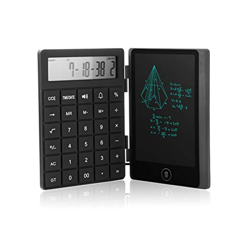 Taschenrechner 8-Zoll-Ultraflaches Lcd-Rechnertablett Styluszeichnung Englischer Abspielberechnungsprozess Tablet-ZäHler Elektronische Grafikkarte FüR Elektronische Schreibtafel (1 pcs Taschenrechner)