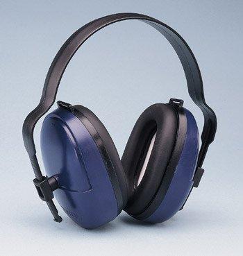 ELVEX HB-25 25dB Over-the-Head Ear Muffs, Black