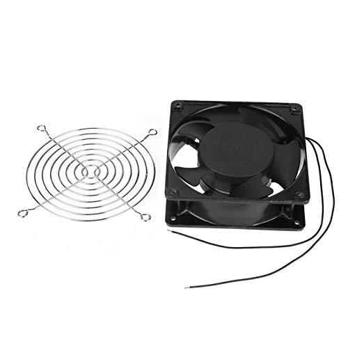 EVTSCAN Ventilador de refrigeración Ventilación de Aire, Incubadora portátil Ventilador de refrigeración Ventilación de Aire Accesorios para máquinas de incubación pequeñas x, 220-240 V CA