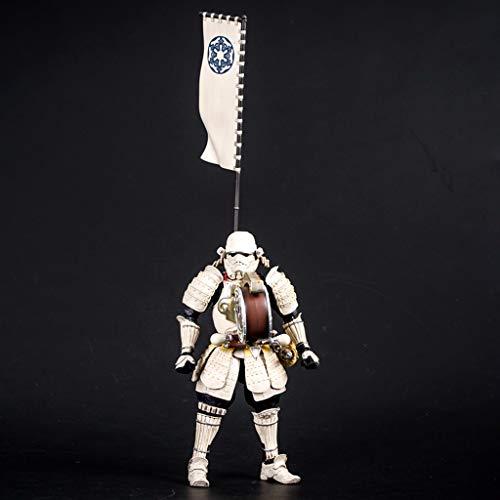 Star Wars - Weißer Soldat Charakter Modell Urlaub Geschenk Kunsthandwerk Spielzeug 22cm