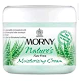 Crema corporal inglesa Morny hidratante de aloe vera, 300 ml