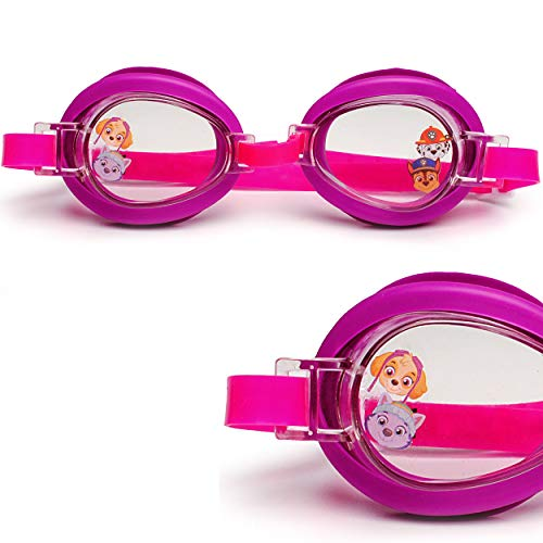 alles-meine.de GmbH Kinder - Schwimmbrille / Chlorbrille / Taucherbrille - Paw Patrol - Hunde / Skye - Everest - von 2 bis 12 Jahre - verstellbar / wasserdicht & Anti Beschlag - ..