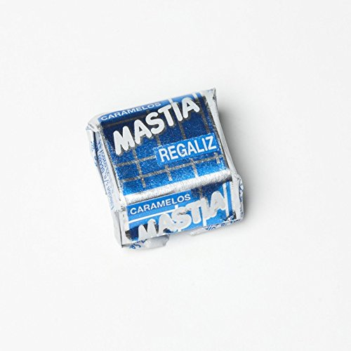 Mastia Caramelo masticable sabor Regaliz 1 Kg
