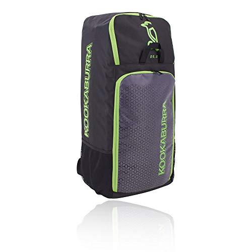 KOOKABURRA D5 Cricket Duffle Bag, schwarz/Lime, Einheitsgröße