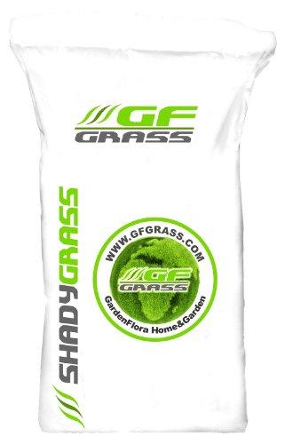 Rasensamen GF Shady Grass 5kg Schattenrasen Grassamen Rasensaat Saatgut Rasensaatgut Rasen Gras