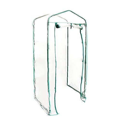 Foliengewächshäuser Gewächshaus PVC Material 100% Wasserdicht UV-Schutz Gartenhäuschen Tomatenhaus Pflanzenhaus(nur Pflanzenschutzfolien)