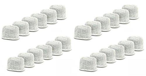 Blendin Kohle-Wasserfilter für Cuisinart DCC-RWF Kaffeemaschinen, 2 Stück