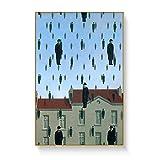 Magritte Artist Surrealist Malerei Druck Auf Leinwand