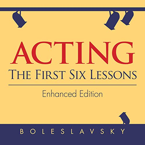 Acting audiobook cover art